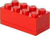 Room Copenhagen Lego mini box 8, red