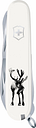 Teemu Järvi Illustrations Victorinox pocket knife, Reindeer