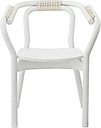 Normann Copenhagen Knot chair, white