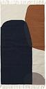 Ferm Living Kelim rug, Merge, 80 x 140 cm