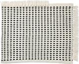 Ferm Living Way mat, 50 x 70, off white - dark blue