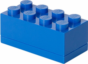Room Copenhagen Lego Mini Box 8, blue