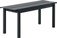 Muuto Linear Steel bench 110 cm, black