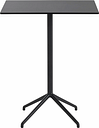 Muuto Still Cafe bar table 75 x 65 cm, h. 95 cm, black