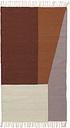 Ferm Living Kelim rug, Borders, 80 x 140 cm