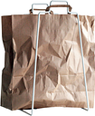 Everyday Design Helsinki paper bag holder, white