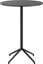 Muuto Still Cafe bar table 75 cm, h. 105 cm, black