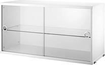 String Furniture String display cabinet, white