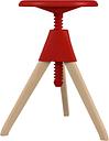Magis Jerry stool, beech - red