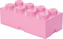 Room Copenhagen Lego Storage Brick 8, light purple