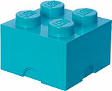 Room Copenhagen Lego Storage Brick 4, azur