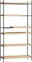 Woud Tray shelf, high, oak