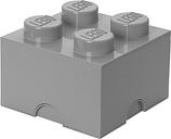 Room Copenhagen Lego Storage Brick 4, grey