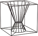 Skargaarden Boo fire basket, black