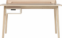 Harto Honore desk, oak - white