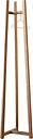 Made by Choice Lonna coat rack, small, oak