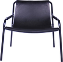 OX Denmarq September chair, black leather