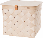 Verso Design Lastu birch basket with lid, L