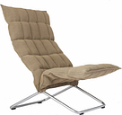 Woodnotes K chair, wide, natural/black
