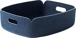 Muuto Restore tray, midnight blue