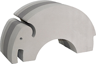 bObles Elephant, grey