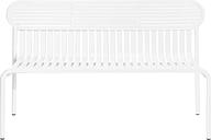 Petite Friture Week-end bench, white