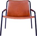 OX Denmarq September chair, cognac leather