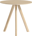 Hay CPH20 round table 50 cm, matt lacquered oak