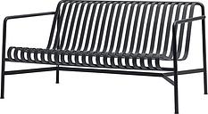 Hay Palissade lounge sofa, anthracite