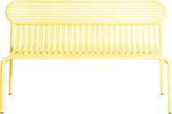 Petite Friture Week-end bench, yellow