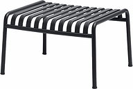 HAY Palissade ottoman, anthracite