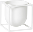 By Lassen Kubus flowerpot 14, white