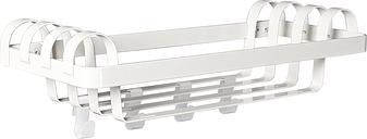 Minus Tio Arches coat rack, oyster white
