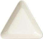 Iittala Teema dish triangle 12 cm, white