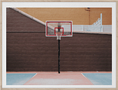 Paper Collective Cities of Basketball 07 (New York) poster