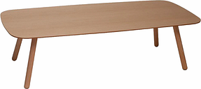 Inno Bondo Wood coffee table 120 cm, ash