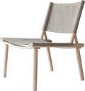 Nikari December chair, ash - linen canvas