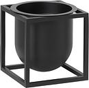 By Lassen Kubus flowerpot 10, black