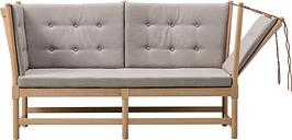 Fredericia Spoke-Back sofa, oak - Fiord 271