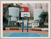 Paper Collective Cities of Basketball 04 (Hong Kong) poster