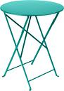 Fermob Bistro table 60 cm, lagoon blue