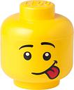 Room Copenhagen Lego Storage Head container, L, Silly