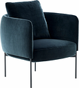 Adea Bonnet Club lounge chair, Opera