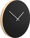 Muoto2 Kiekko wall clock, black