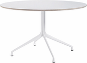 Hay About a Table AAT20, 128 cm, white laminate