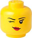 Room Copenhagen Lego Storage Head container, L, Winky