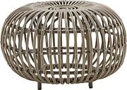Sika-Design Franco Albini Exterior ottoman, large, moccacino