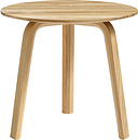 HAY Bella coffee table 45 cm, low, oiled oak