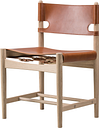 Fredericia The Spanish Dining Chair, cognac leather - soaped oak
