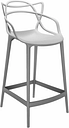 Kartell Masters stool, grey